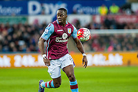 Aly Cissokho of Aston Villa  in action during the Barclays Premier League match between Swansea City and Aston Villa played at the Liberty Stadium, Swansea  on March the 19th 2016