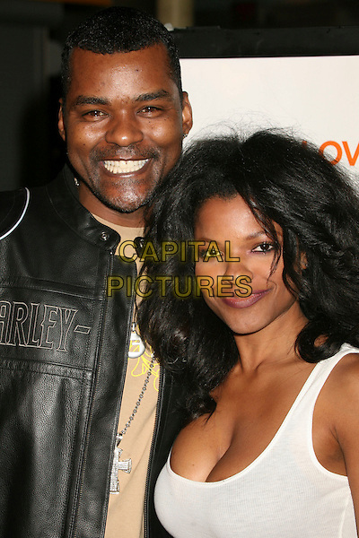 "GARY STURGIS & KEESHA SHARP .""I Think I Love My Wife"" Los Angeles Premiere at ArcLight Cinemas, Hollywood, California, USA..March 7th, 2007.headshot portrait black white.CAP/ADM/BP.©Byron Purvis/AdMedia/Capital Pictures"