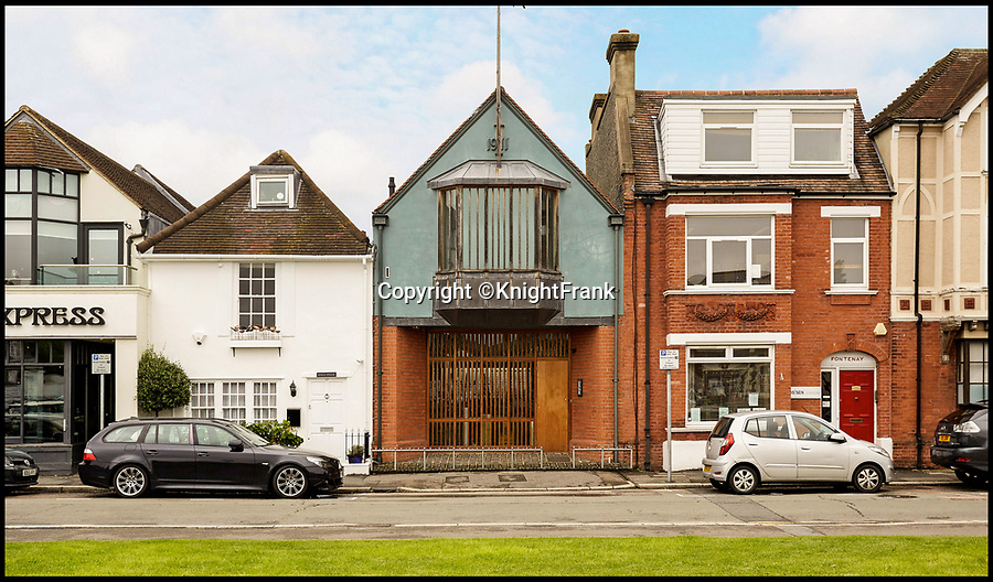 BNPS.co.uk (01202 558833)<br /> Pic: KnightFrank/BNPS<br /> <br /> Humble exterior gives no clue to the spacious interior.<br /> <br /> Stunning transformation of a former chapel near Hampton Court in London.<br /> <br /> A former derelict chapel has been transformed into a heavenly home - and is now on the market with a guide price of £1.8m.<br /> <br /> When Keith Holmes, 73, bought the property in 1997 it was a complete wreck with missing tiles, woodworm and smashed stained glass windows. <br /> <br /> He had to completely gut the building before he could turn it into a stunning house and his labour of love took 16 years and about £800,000.<br /> <br /> Mr Holmes, an art restorer and painter, only finished his epic renovation about four years ago but has decided to sell so he can start a new project.<br /> <br /> This property is now on the market with Knight Frank.