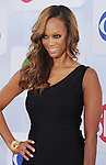 BEVERLY HILLS, CA - JULY 29: Tyra Banks arrives at the CBS, Showtime and The CW 2012 TCA summer tour party at 9900 Wilshire Blvd on July 29, 2012 in Beverly Hills, California.