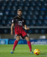 Jordan Turnbull of Coventry City during the The Checkatrade Trophy Southern Group D match between Wycombe Wanderers and Coventry City at Adams Park, High Wycombe, England on 9 November 2016. Photo by Andy Rowland.