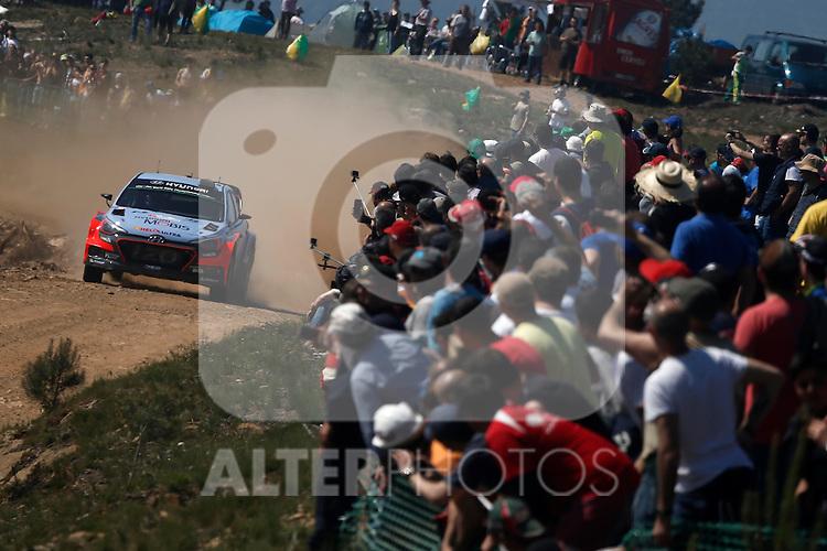 Thierry Neuville  ( BEL )  - Nicolas Gilsoul ( BEL )  -  Hyundai I20 WRC