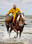 Xavier Vanbillemont, fishing with his horse Byron. <br />