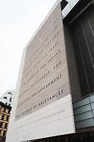 WASHINGTON DC, EUA, 08.10.2019 - TURISMO-WASHINGTON DC - Newseum, na cidade de Washington DC, capital dos Estados Unidos, nesta terça-feira, 8. (Foto Charles Sholl/Brazil Photo Press/Folhapress)