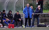 Trainer Jörg Nowka (Nauheim) - Büttelborn 03.11.2019: SKV Büttelborn vs. SV 07 Nauheim, Gruppenliga Darmstadt