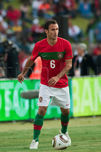 Ricardo Carvalho (POR), JUNE 8, 2010 - Football : International Friendly match between Portugal 3-0 Mozambique at the Wanderers stadium in Johannesburg, South Africa.