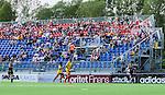 Tyres&ouml; 2014-05-25 Fotboll Damallsvenskan Tyres&ouml; FF - FC Roseng&aring;rd :  <br /> Vy &ouml;ver planen mot l&auml;ktare med publik och tomma stolar under matchen<br /> (Foto: Kenta J&ouml;nsson) Nyckelord:  Damallsvenskan Tyres&ouml;vallen Tyres&ouml; TFF FC Roseng&aring;rd FCR Malm&ouml; supporter fans publik supporters utomhus exteri&ouml;r exterior