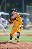 Cannon Pickell (13) during the WWBA World Championship at the Roger Dean Complex on October 10, 2019 in Jupiter, Florida.  Cannon Pickell attends Currituck County High School in Moyock, NC and is committed to North Carolina.  (Mike Janes/Four Seam Images)