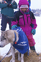 White Mountain Girl Pets M Buser's Dog Iditarod 99 AK