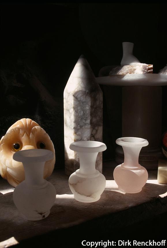 Italien, Toskana, Volterra, Alabasterwerkstatt Rossi