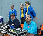 SCHIEDAM- NK reserveteams zaalhockey. Finale Tilburg D2-HDM D2 (1-3) . wedstrijdleiding    COPYRIGHT KOEN SUYK