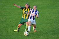 VOETBAL: HEERENVEEN: 02-09-2014, Sportpark Skoatterwâld, Damesvoetbal SC Heerenveen - ADO Den Haag, uitslag 0-3, Lianne de Vries, ©foto Martin de Jong