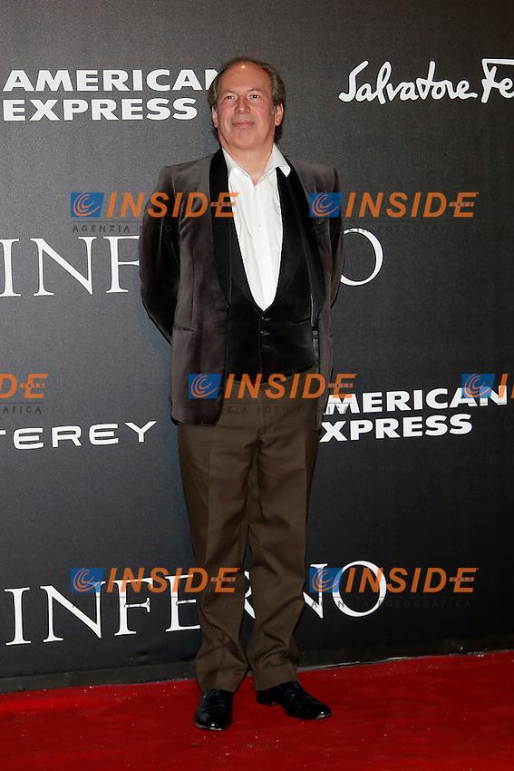 Composer Hans Zimmer<br /> Firenze 08-10-2016. 'Inferno' Anteprima Mondiale.<br /> Florence 8th October 2016. 'Inferno' World Premiere.<br /> Foto Samantha Zucchi Insidefoto
