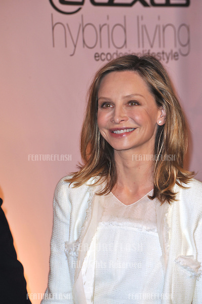 Calista Flockhart at the 20th anniversary Environmental Media Awards at Paramount Studios, Hollywood..October 25, 2009  Los Angeles, CA.Picture: Paul Smith / Featureflash