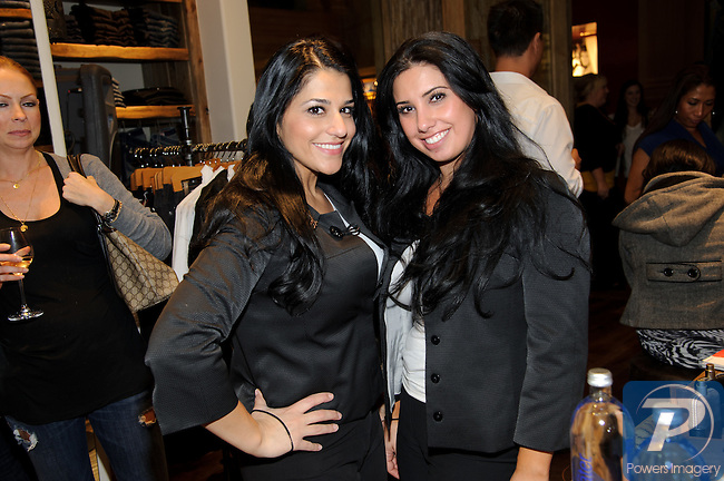 Tannaz Farkhar, Gina Gennaro at the True Religion store opening in the Forum Shoppes located in Caesar's Palace, Las Vegas, NV, November 18, 2010 © Al Powers / Vegas Magazine