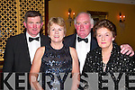 PHOTO: Gerry and Pat Galvin with Norma and Jim Corridan, all Finuge, took time out for a photo at the Feale Rangers Ball in The Listowel Arms Hotel on Friday night.   Copyright Kerry's Eye 2008