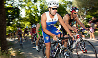 05 JUN 2010 - MADRID, ESP - Daniel Parro Izquierdo - Spanish Age Group Triathlon Championships (PHOTO (C) NIGEL FARROW)