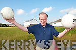 DEVELOPMENTS: Peter Murphy from St. Mary's GAA Club in Caherciveen pictured on the site of the clubs new developments.   Copyright Kerry's Eye 2008