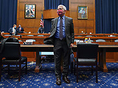 Dr. Anthony Fauci, director of the National Institute for Allergy and Infectious Diseases, leaves after testifying during a United States House Energy and Commerce Committee hearing on the Trump Administration's Response to the COVID-19 Pandemic, on Capitol Hill in Washington, DC on Tuesday, June 23, 2020. <br /> Credit: Kevin Dietsch / Pool via CNP