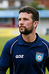 Ryan Farrell Yorkshire Head Coach. Yorkshire v Parishes of Jersey, CONIFA Heritage Cup, Ingfield Stadium, Ossett. Yorkshire's first competitive game. The Yorkshire International Football Association was formed in 2017 and accepted by CONIFA in 2018. Their first competative fixture saw them host Parishes of Jersey in the Heritage Cup at Ingfield stadium in Ossett. Yorkshire won 1-0 with a 93 minute goal in front of 521 people.