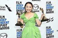 08 February 2020 - Santa Monica - Lulu Wang. 2020 Film Independent Spirit Awards - Press Room held at Santa Monica Pier. Photo Credit: Birdie Thompson/AdMedia