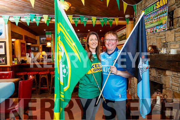 Greg O'Connor from Dublin and his wife Una from Kerry of McMunns Bar and Restaurant in Ballybunnion.