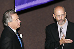 28 August 2006: Inductee Phil Anschutz (left) with Will Lund. The National Soccer Hall of Fame Induction Ceremony was held at the National Soccer Hall of Fame in Oneonta, New York.