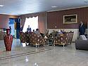 Iraq 2013 .The opening of the Book Fair in Erbil with the President Masoud Barzani : in the VIP lounge    .Irak 2013 .Ouverture du salon du livre a Erbil par le président Masoud Barzani: dans le salon des VIP