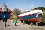 The Old Lifeboat House and Maritime museum, Walton on the Naze, Essex, England
