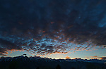 Sierra sunset in Gardnerville, Nev., on Tuesday, March 24, 2015. <br /> Photo by Cathleen Allison