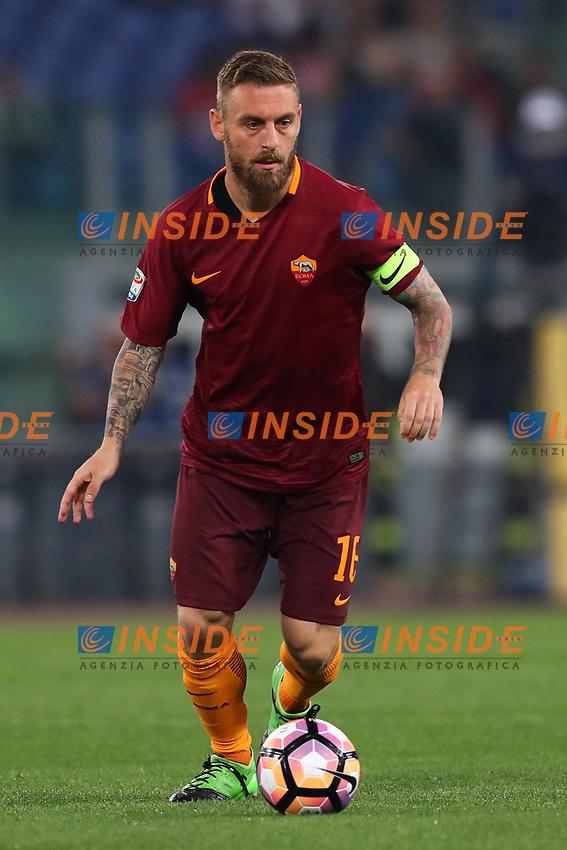 Daniele De Rossi Roma<br /> Roma 14-05-2017  Stadio Olimpico <br /> Campionato Serie A AS Roma - Juventus<br /> Foto Cesare Purini / Insidefoto