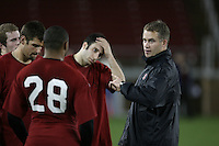 """9 February 2007: D.J. Durkin during a """"Friday Night Lights"""" practice at Stanford Stadium in Stanford, CA."""