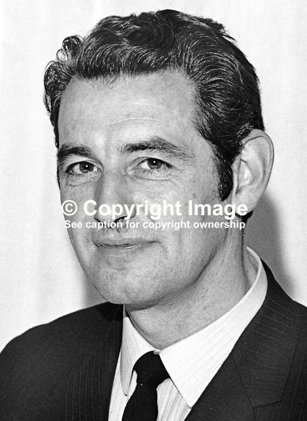 Inspector Jack Scully, head, Drugs Squad, RUC, Royal Ulster Constabulary, N Ireland, UK, 197100000362<br /> <br /> Copyright Image from Victor Patterson, 54 Dorchester Park, Belfast, UK, BT9 6RJ<br /> <br /> Tel: +44 28 9066 1296<br /> Mob: +44 7802 353836<br /> Voicemail +44 20 8816 7153<br /> Email: victorpatterson@me.com<br /> <br /> <br /> IMPORTANT: If you wish to use this image or any other of my images please go to www.victorpatterson.com and click on the Terms &amp; Conditions. Then contact me by email or phone with the reference number(s) of the image(s) concerned.