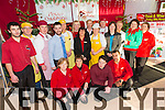 Garveys supervalu castleisland staff wishing their customers a happy Christmas