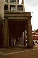London:  Paternoster Square, Arcade of King Edward's Court. Photo '05.