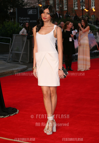 Gemma Chan arriving for the Titanic 3D film premiere, Royal Albert Hall, London. 27/03/2012 Picture by: Alexandra Glen / Featureflash