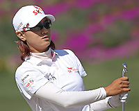 23 MAR 13  Korean Super Star Na Yeon Choi during Saturdays Third Round at The KIA Classic at Aviara Golf Club in Carlsbad, California. (photo:  kenneth e.dennis / kendennisphoto.com) www.golffile.ie