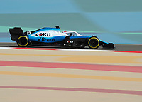 George RUSSELL (GBR) (ROKIT WILLIAMS RACING) during the Bahrain Grand Prix at Bahrain International Circuit, Sakhir,  on 31 March 2019. Photo by Vince  Mignott.
