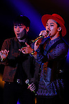 BIGBANG, Feb 28, 2015  2015 S/S : February 28, 2015 : V.I(Seung-Ri), G-DRAGON, Fashion Runway Show of TOKYO GIRLS COLLECTION by girlswalker.com 2015 SPRING/SUMMER at Yoyogi Gymnasium in Shibuya, Japan.