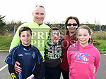 The Breen Family who took part in the St. Colmcilles 10K run. Photo:Colin Bell/pressphotos.ie