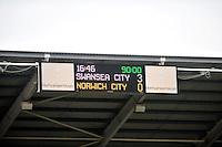 Swansea v Norwich, Liberty Stadium, Saturday 29th march 2014...<br /> <br /> <br /> <br /> Final score  3-0