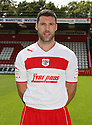 Jon Ashton of Stevenage. Stevenage FC photoshoot -  Lamex Stadium, Stevenage . - 16th August, 2012. © Kevin Coleman 2012
