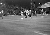 03/09/1980 Blackpool v Everton  League Cup 2nd Round 2nd Leg .Dabve Hockaday blocked by Mick Lyons....© Phill Heywood.