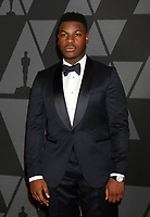 HOLLYWOOD, CA - NOVEMBER 11: John Boyega_ at the AMPAS 9th Annual Governors Awards at the Dolby Ballroom in Hollywood, California on November 11, 2017. <br /> CAP/MPI/DE<br /> &copy;DE/MPI/Capital Pictures