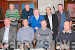 Lartigue Railway Committe annual Party: members of the Lartigue railway Committee enjoyin their annuka Party at the Mermaids Bar & Disco on Friday night last . front : Ray Barrett, Paddy Keane, Tom Kissane & Garrett Williams. Back : Mike O'Sullivan, Peter McGrath, Denis O'Rourke, Martin Griffin & ..........