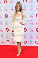 Ola Jordan arriving at the Tesco Mum Of The Year Awards 2014, at The Savoy, London. 23/02/2014 Picture by: Alexandra Glen / Featureflash