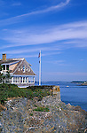 Eagle Island State Historic Site, home of Robert E Peary, discoverer of the North Pole, Harpswell, Maine, USA