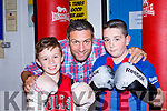 Conor Clifford and Jerimiah Flynn met Olympic Silver medalist Kenny Egan in Sliabh Luachra Boxing club on Friday night