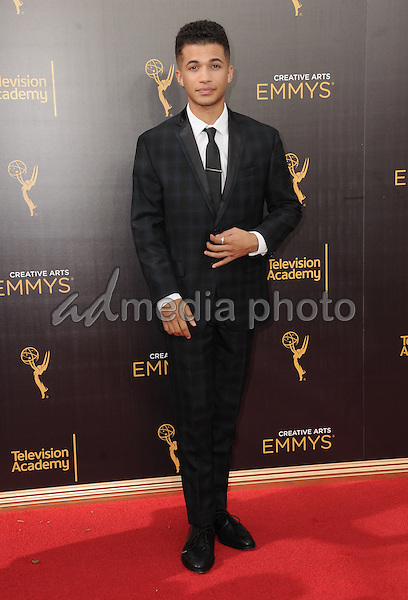 11 September 2016 - Los Angeles, California. Jordan Fisher. 2016 Creative Arts Emmy Awards - Day 2 held at Microsoft Theater. Photo Credit: Birdie Thompson/AdMedia