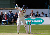 June 11th 2017, Trafalgar Road Ground, Southport, England; Specsavers County Championship Division One; Day Three; Lancashire versus Middlesex; An early breakthrough for Middlesex as Shivnarine Chanderpaul of Lancashire is caught behind off the bowling of Tim Murtagh in the second over of the day